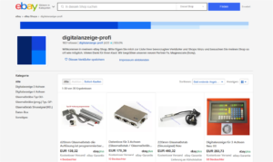 eBay Shop 2020